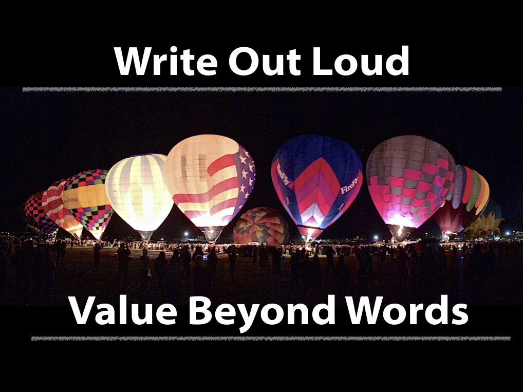 Write Out Loud + Value Beyond Words - 2 Day Package